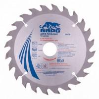 Пильный диск по дереву 210 x 32/30 мм, 24 твердосплавных зуба. БАРС