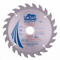 Пильный диск по дереву 216 x 32/30 мм, 24 твердосплавных зуба. БАРС