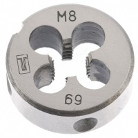 Плашка М8 х 1,25 мм. СИБРТЕХ