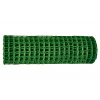 Заборная решетка в рулоне, 2 х 25 м, ячейка 22 х 22 мм. цвет хаки. Россия