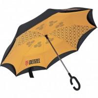 Зонт-трость обратного сложения, эргономичная рукоятка с покрытием Soft ToucH. DENZEL