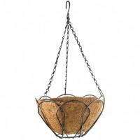 Подвесное кашпо, 25 см, с кокосовой корзиной. PALISAD