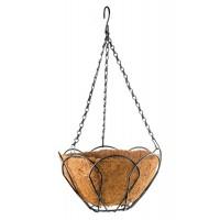 Подвесное кашпо, 30 см, с кокосовой корзиной. PALISAD