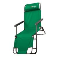 Кресло-шезлонг двух позиционное 156 х 60 х 82 см, Camping. PALISAD