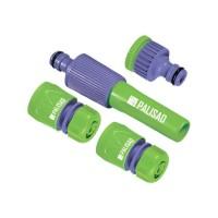 Набор для подключения шланга 1/2, распылитель, 3 адаптера к распылителю. PALISAD