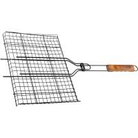 Решетка гриль 260 х 350 мм. антипригарное покрытие, Camping. PALISAD