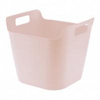 Ведро гибкое сверхпрочное, 26 л, розовое Сибртех