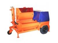 Агрегат штатурно-смесительный АШС-2500 2,5 м3/ч, 6, 25кВт, 380 В, 1,47 МПа, подача: гор/вер 100/30м