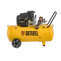 Компрессор воздушный DKV2200/100, Х-PRO 2.2 кВт, 400 л/мин, 100л Denzel