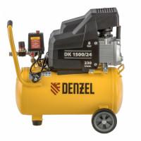 Компрессор воздушный DK1500/24, Х-PRO 1,5 кВт, 230 л/мин, 24 л Denzel
