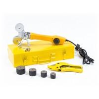 Аппарат для сварки пластиковых труб D WP-750, 750 Вт, 0-300 град, 4 насадки, 20-40 мм. DENZEL