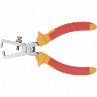 Клещи для снятия изоляции Insulated, 160 мм, двухкомпонентные рукоятки. MATRIX PROFESSIONAL
