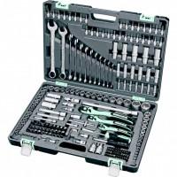 Набор инструмента, 1/4, 3/8, 1/2, Cr-V, S2, усиленный кейс, 216 предметов. STELS