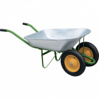 Тачка садовая, два колеса, грузоподъемность 170 кг, объем 78 л Palisad
