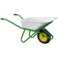 Тачка садово-строительная, одноколесная, усиленная, грузоподъемность 200 кг, объем 90 л. PALISAD