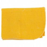 Салфетка для пола х/б желтая 500 х 700 мм. Россия. Elfe