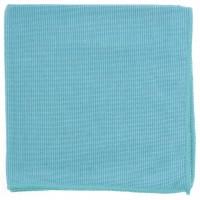 Салфетка из микрофибры жемчужная для бытовой те х ники и мебели голубая 400 х 400 мм. Elfe
