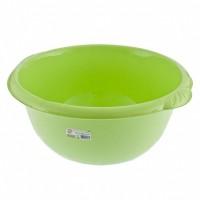 Таз пластмассовый круглый 18 л, зеленый, Россия. Elfe