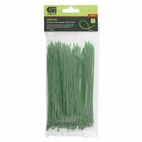 Хомуты, 150 x 2,5 мм, пластиковые, зеленые, 100 шт. Сибртех
