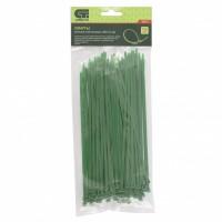 Хомуты, 200 x 3,6 мм, пластиковые, зеленые, 100 шт. Сибртех