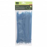 Хомуты, 200 x 3,6 мм, пластиковые, синие, 100 шт. Сибртех