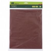 Шлифлист на бумажной основе, P 1500, 230 х 280 мм, 10 шт, влагостойкий. СИБРТЕХ
